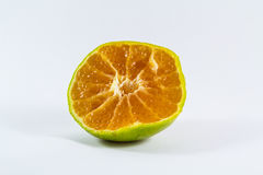 Oranges are squeezed Royalty Free Stock Photo