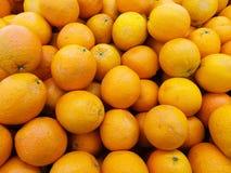 Oranges sur l'affichage Images stock