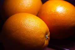 Oranges on the table Stock Photo