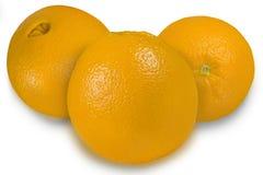 oranges trois Image stock