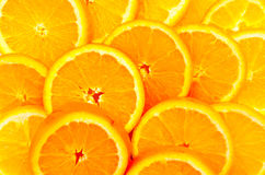 Oranges wallpaper Royalty Free Stock Images