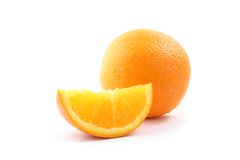 Oranges  on white background Stock Photography