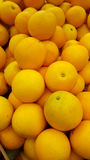 Oranges. Yellow sweet background food natural Royalty Free Stock Photography