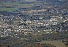 Orangeville Онтарио, воздушное Стоковое фото RF