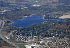 Orangeville Ontario, lucht Stock Foto