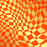 Orangewaves Stock de ilustración