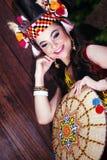 An orangulu princess Stock Images