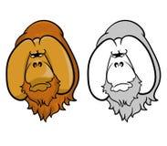 orangutans illustrazione di stock