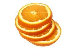 Orangve slices Royalty Free Stock Images