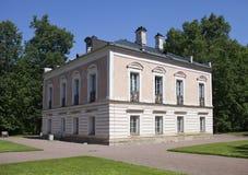Oranienbaum (Lomonosov) Ανώτερο πάρκο Παλάτι του αυτοκράτορα Pyotr ΙΙΙ στοκ εικόνες