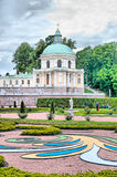 Oranienbaum (Lomonosov). Saint-Petersburg. The Grand Menshikov Palace. The Church Pavilion Royalty Free Stock Photos