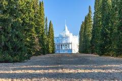 Oranienbaum.Pavilon-Toboggan. lizenzfreie stockbilder