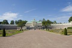 Palace in Oranienbaum, Russia Royalty Free Stock Image