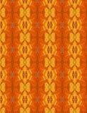 Oranje Abstract die Patroon als Achtergrondtextuur wordt gebruikt Stock Fotografie