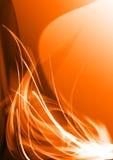 Oranje abstracte achtergrond Royalty-vrije Stock Afbeeldingen