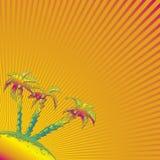 Oranje abstracte achtergrond Royalty-vrije Stock Foto