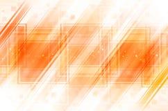 Oranje abstracte achtergrond Stock Foto's