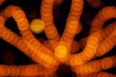 Oranje abstracte achtergrond Stock Afbeeldingen