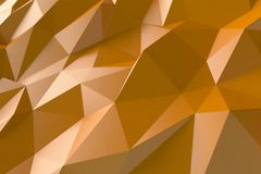 Oranje abstracte achtergrond Stock Foto