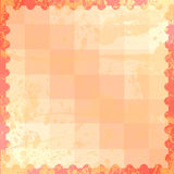 Oranje abstracte background1 vector illustratie