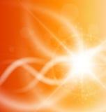 Oranje achtergrond Royalty-vrije Stock Foto's
