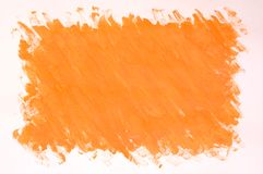 Oranje achtergrond stock illustratie