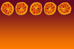 Oranje achtergrond Royalty-vrije Stock Afbeelding
