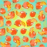 Oranje Achtergrond Stock Afbeelding