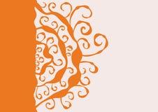 Oranje Achtergrond Stock Afbeeldingen