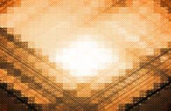 Oranje Achtergrond vector illustratie