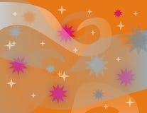 Oranje achtergrond Royalty-vrije Stock Afbeeldingen