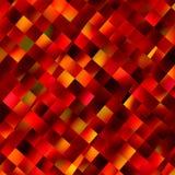 Oranje Achtergrond Decoratie vierkant patroon Het beeld van de kleur Abstract art Kleurenachtergrond De moderne achtergronden van Stock Foto