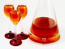 Oranje alcoholische drank Stock Afbeeldingen