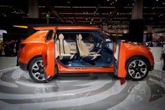 Oranje Auto Stock Foto's