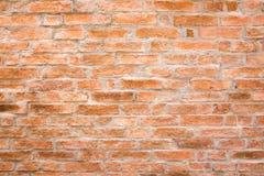 Oranje Bakstenen muur royalty-vrije stock foto