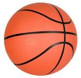 Oranje basketbalbal Stock Foto