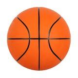 Oranje basketbalbal Stock Foto's