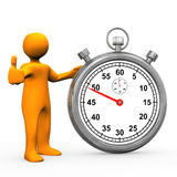 O.K. chronometer Stock Foto's