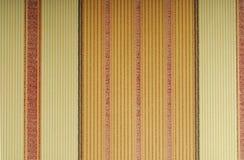 Oranje behang met verticale lijnen Stock Fotografie