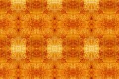Oranje behangtextuur Stock Foto