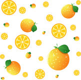 Oranje BG Stock Fotografie