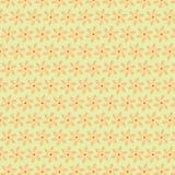 Oranje Bloemachtergrond Royalty-vrije Stock Foto