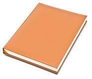 Oranje boek Royalty-vrije Stock Afbeelding