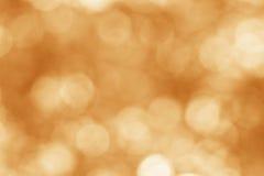 Oranje bokehachtergrond Royalty-vrije Stock Fotografie