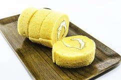 Oranje cakerij royalty-vrije stock afbeelding