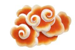 Oranje Chinese Wolk Royalty-vrije Stock Fotografie