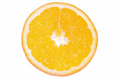 Oranje cirkel Royalty-vrije Stock Afbeeldingen