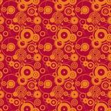 Oranje cirkels Royalty-vrije Stock Foto's
