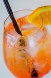 Oranje cocktail Stock Foto's