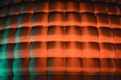 Oranje 3d achtergrond Royalty-vrije Stock Foto's